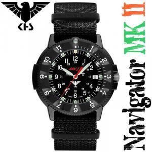 KHS Uhren Navigator MK II mit Nato-Textilband