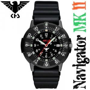 KHS Uhren Navigator MK II mit Diver-Armband