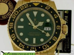 Rolex Gmt II Oro 18