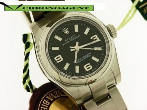 Rolex Oyster Perpetual l Lady in acciaio nuovo!Ref. 176200 con scatola e garanzia ufficiale . Cassa in acciaio di 27