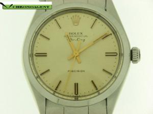 Rolex Air-King g in acciaio quadrante oro
