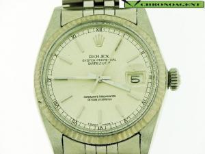 Rolex Oyster Perpetual Datejust t in acciaio e oro bianco