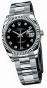 Rolex Oyster Perpetual l Date ref. 115234