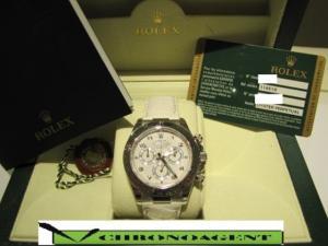 Rolex Oyster Perpetual Cosmograph Daytona A REF. 116519 CASSA ORO BIANCO 18Kt