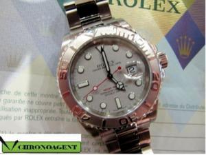 Rolex Oyster Perpetual L YACH-MASTER REF.16622 CASSA IN ACCIAIO E PLATINO
