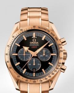 Omega Speedmaster Broad Arrow W IN ORO ROSSO