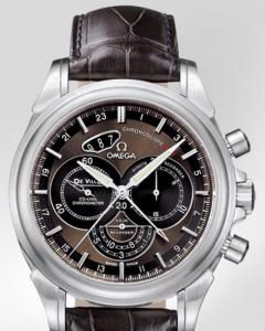 Omega De Ville Co-Axial Chronoscope e ref.422.13.44..52.13.001 con cassa in acciao