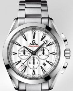 Omega Seamaster Aqua Terra Chronograph h ref.231.10.44.50.04.001 con cassa in acciaio