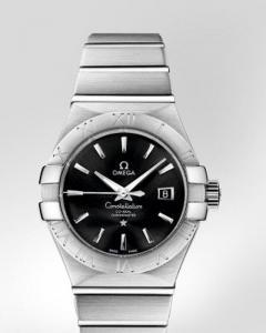 Omega Constellation Brushed Chronometer r ref. 123.10.31.20.01.001 con cassa in acciaio