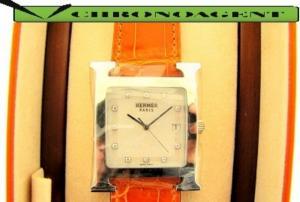 Sonstige Uhren MODELLO HEURE H ACCIAIO E DIAMANTI REF.2324801