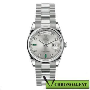 Rolex Oyster Perpetual l Day-date ref. 118206 con cassa in platino