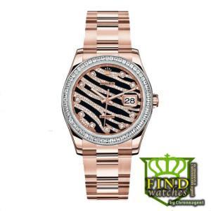 Rolex Oyster Perpetual Datejust t ref. 116285BBR con cassa in acciaio rosa