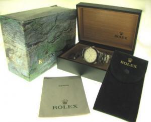Rolex Air-King g ref. 14000 con cassa in acciaio