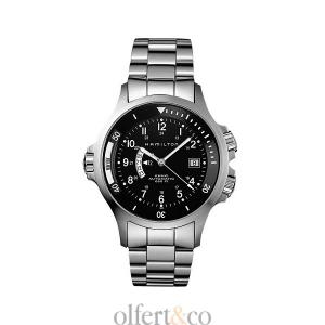 Hamilton Uhr Khaki Navy GMT Automatik H77615133