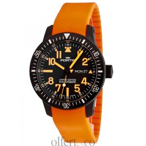 Fortis B-42 Black Mars 500 Day/Date 647.28.13 Si.19