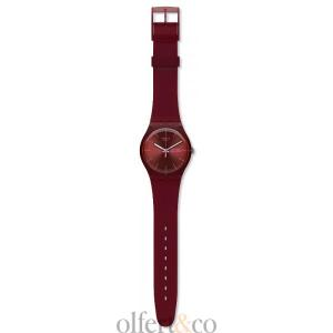 Swatch Burgundy Rebel Herrenuhr SUOR702