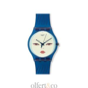 Swatch Blue Wraith Uhr SUOZ107