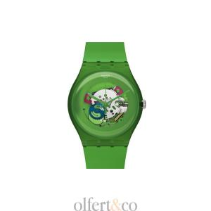 Swatch Green Lacquered SUOG103