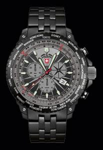 Swiss Military Hurricane Worldtimer 2476