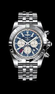 Breitling Chronomat GMT nuovo ed imballato con cassa in acciaio