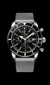 Breitling Superocean Heritage Chronographe 46 nuovo ed imballato con cassa in acciaio