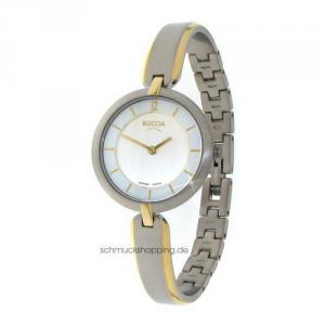 Boccia Damen Titan Uhr bicolor 3164-03