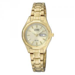 Citizen Damen Uhr EcoDrive EW3142-56PE