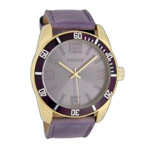 OOZOO-TIMEPIECES OOZOO  purple C5744