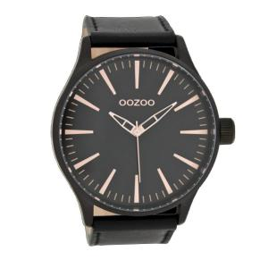 OOZOO-TIMEPIECES OOZOO  XXL schwarz C7424