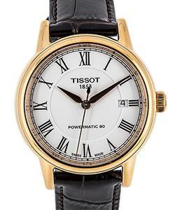 Tissot T-Classic Carson Automatic Gent mit Lederarmband