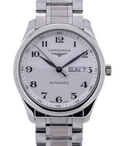 Longines Master 38.5 Day-Date Guilloche Dial