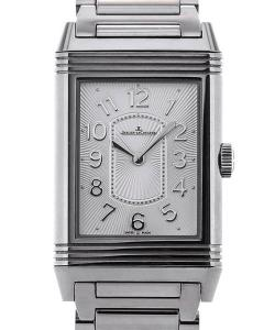 Jaeger-LeCoultre Grand Reverso Lady Ultra Thin Guilloche Dial Steel