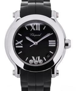 Chopard Happy Sport s 36 Black Dial