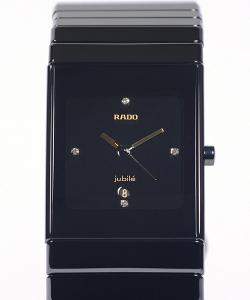 Rado Ceramica Black Jubilé 4 Diamonds