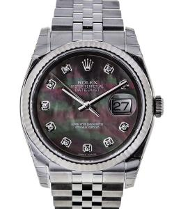 Rolex Datejust Mother of Pearls Diamonds
