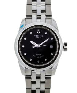 Tudor Glamour Lady Black Diamonds