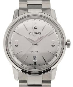 Vulcain 50s Presidents&#039  Classic 42 Silver-toned Dial Steel
