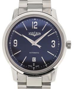 Vulcain 50s Presidents'  Classic 42 Blue Dial Steel