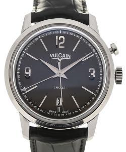 Vulcain 50s Presidents'  Watch 42 Charcoal