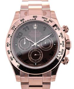 Rolex Oyster Perpetual Daytona Cosmograph Everrose Brown Dial