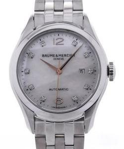 Baume & Mercier Clifton 30 MoP Diamonds