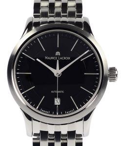 Maurice Lacroix Les Classiques Date Automatic 38 Black Dial Stainless Steel