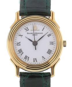 Baume & Mercier Classic Vintage 24 Quarz Green Strap