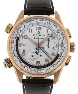 Zenith Pilot Doublematic 45 Automatic GMT L.E.