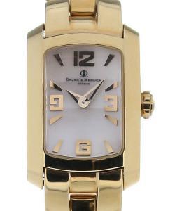 Baume & Mercier Hampton Milleis 25 Quartz Gold