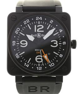Bell & Ross Aviation 46 GMT Black Dial