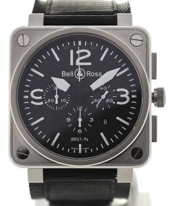 Bell & Ross Aviation 42 Steel Chronograph