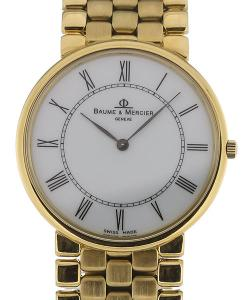 Baume & Mercier Classima 32 Silver Dial Yellow Gold Ladies Quartz