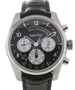 Eberhard & Co. 120eme Anniversaire 42 Black Dial Chronograph