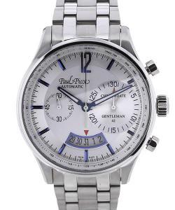 Paul Picot Gentleman Chronodate 42 Blue Hands